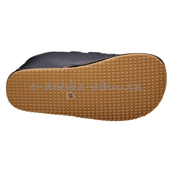 5b47321f465 Dětská obuv - Protetika LAREDO  navy  BF