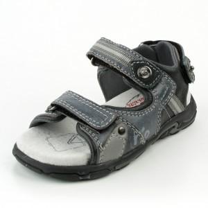 Dětská obuv Sandály PIO  /Black - Boty a dětská obuv