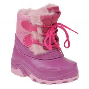 Dětská obuv Termoobuv růžová stahovací - X...SLEVY  SLEVY  SLEVY...X