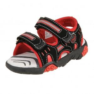 Dětská obuv Peddy PO-612-36-10  /black/red - Boty a dětská obuv