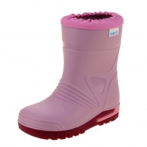 Dětská obuv Gumovky Nora DINO  /růžové - Boty a dětská obuv