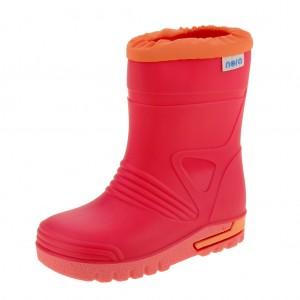 Dětská obuv Gumovky Nora DINO  /fuxia - Boty a dětská obuv