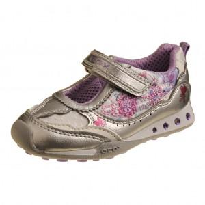 Dětská obuv GEOX NewJocker D. /silver/lilac -
