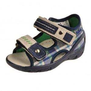 Dětská obuv Domácí sandálky Befado 065P068 - Boty a dětská obuv