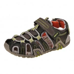 Dětská obuv GEOX JS Kraze H  /grey/lime -