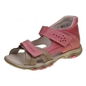 Dětská obuv Sandály Santé 950/803 /růžové -  Na doma a do škol(k)y