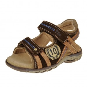 Dětská obuv Sandály PIO  /Brown - Boty a dětská obuv