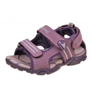 Dětská obuv Sandály VIKING Jurassic  /purple -
