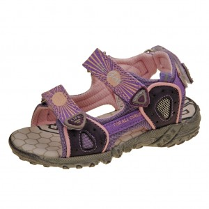Dětská obuv Santé RN113BXL   /purple/pink -  Sandály