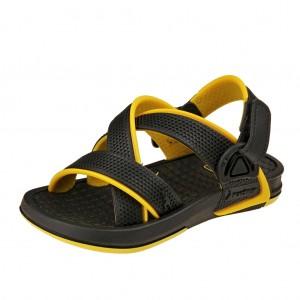 Dětská obuv Rider Revolution  /black/yellow -  Sandály