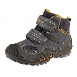 GEOX J Savage WP   /navy/ochre yellow