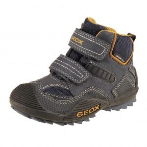 Dětská obuv GEOX J Savage WP   /navy/ochre yellow -