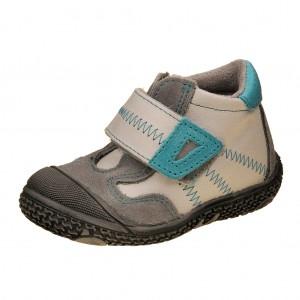 Dětská obuv Santé N661/201    /bílá/tyrkys - Boty a dětská obuv