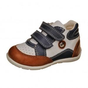 Dětská obuv GEOX B Kaytan   /white/navy - Boty a dětská obuv