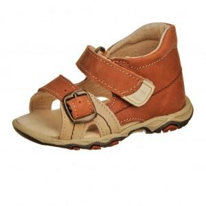 Dětská obuv Sandálky Santé 950/101 /skořice -  Sandály