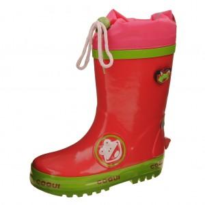 Dětská obuv Gumovky Coqui  /fuchsia - Gumovky