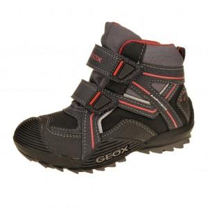 Dětská obuv GEOX J Savage WP   /black/red -