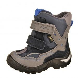 Dětská obuv ECCO Snowride   /titanium/marine - Boty a dětská obuv