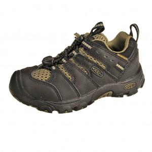 Dětská obuv KEEN Koven low WP  black burnt olive - Celoroční 9b694b60af
