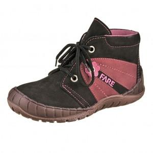 Dětská obuv FARE 823212 /černá/vínová - X...SLEVY  SLEVY  SLEVY...X