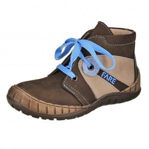 Dětská obuv FARE 823121 /hnědá - X...SLEVY  SLEVY  SLEVY...X