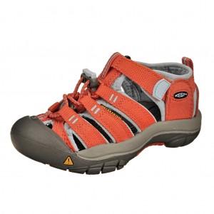 Dětská obuv KEEN Newport H2   /hot coral/corydalis blue -  Sandály