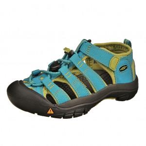 Dětská obuv KEEN Newport H2   /hawaiian blue/green glow -  Sandály