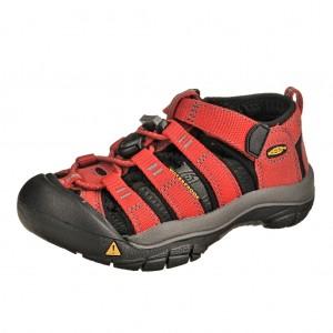 Dětská obuv KEEN Newport H2   /ribbon red/gargoyle - X...SLEVY  SLEVY  SLEVY...X