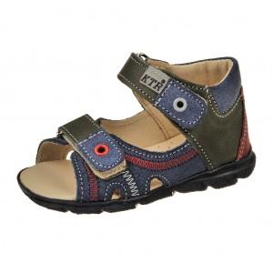 Dětská obuv Sandály KTR 119/120  /modrá -  Sandály