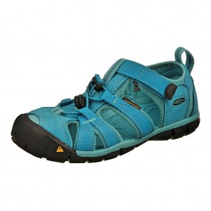 Dětská obuv KEEN Seacamp   /baltic/caribbean sea -  Sandály