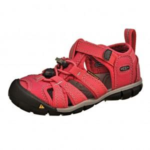 Dětská obuv KEEN Seacamp   /honeysuckle/neutral gray -  Sandály
