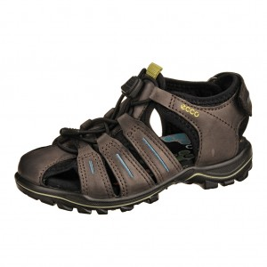 Dětská obuv ECCO Urban Safari Kids  /black +++ - Boty a dětská obuv