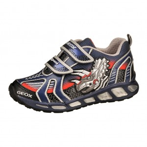 Dětská obuv GEOX J Shuttle B  /navy/silver -
