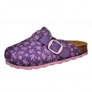 Dětská obuv LICO Bioline  lila/rosa -  Na doma a do škol(k)y