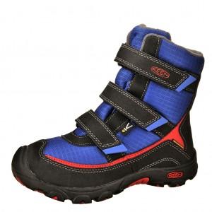 Dětská obuv KEEN Trezzo    /olympian blue/racing red -  Zimní