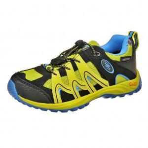 Dětská obuv Brütting Vision low Kids  /lemon/blau - Boty a dětská obuv