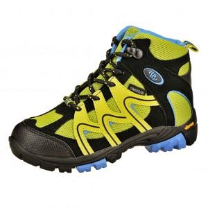 Dětská obuv Brütting Vision High   /lemon/blau - Boty a dětská obuv