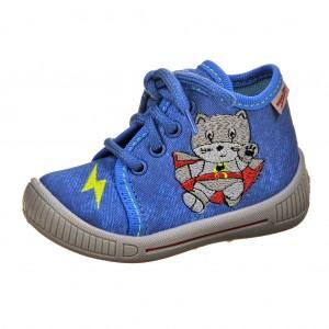 Dětská obuv Domácí obuv Superfit 6-00254-84 -  Na doma a do škol(k)y