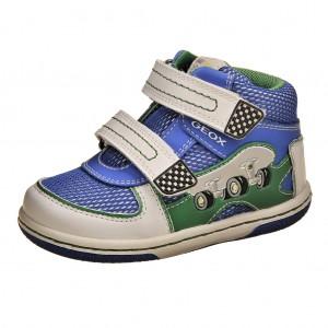 Dětská obuv GEOX B Flick   /white/royal - X...SLEVY  SLEVY  SLEVY...X