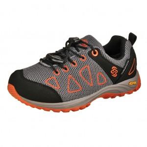 Dětská obuv Brütting Atlanta  /grau/schwarz/orange - Boty a dětská obuv