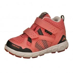 Dětská obuv VIKING Hobbit MID GTX   /pink/coral -