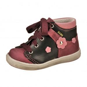 Dětská obuv FARE 2126193  /vínová - X...SLEVY  SLEVY  SLEVY...X