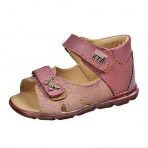 Dětská obuv Sandály KTR 119/120  /amarant/fialová *** - Boty a dětská obuv