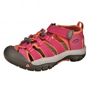 Dětská obuv KEEN Newport H2 /very berry/fusion coral -  Sandály