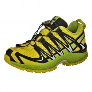 Dětská obuv Salomon XA Pro 3D J /yellow/green/black - Boty a dětská obuv