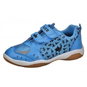 Dětská obuv LICO Speed Indoor V   blau/schwarz - Boty a dětská obuv