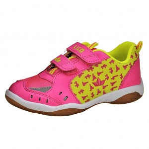 Dětská obuv LICO Speed Indoor V   pink/lemon - Boty a dětská obuv