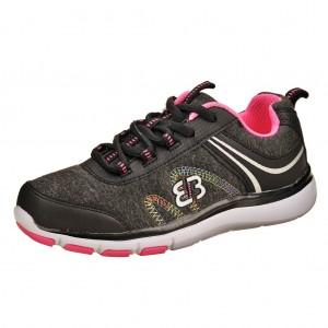 Dětská obuv Brütting Bolero  /schwarz/pink - Boty a dětská obuv