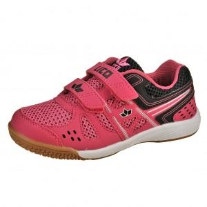 Dětská obuv LICO Catcher V   pink/schwarz - Boty a dětská obuv