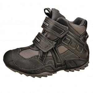 Dětská obuv GEOX J Savage B   /grey/black - X...SLEVY  SLEVY  SLEVY...X